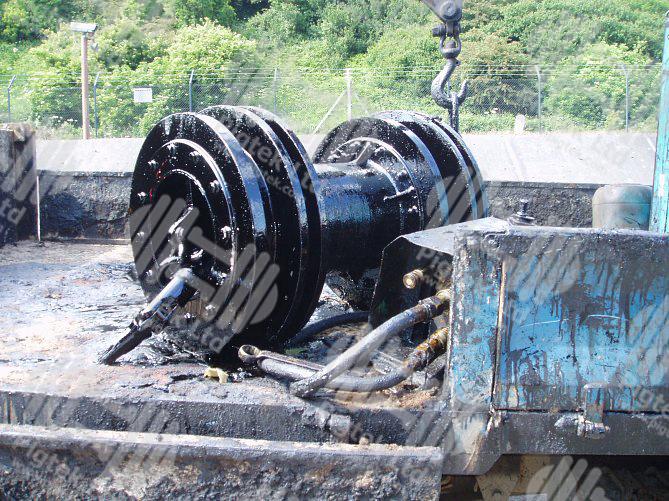Heavy fuel oil pipeline cleaning pigtek