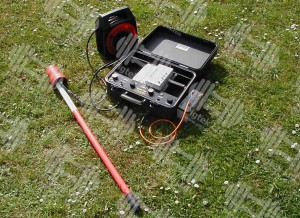Pipeline pig tracking equipment