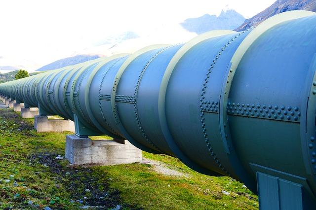 pressure water pipeline